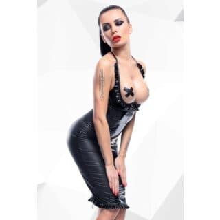 Платье с открытой грудью Hard Candy collection Danika, чёрное, S