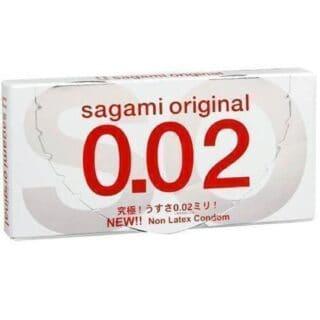Полиуретановые презервативы Sagami Original 0.02 №2