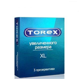 Презервативы большого размера гладкие Torex, 3 шт