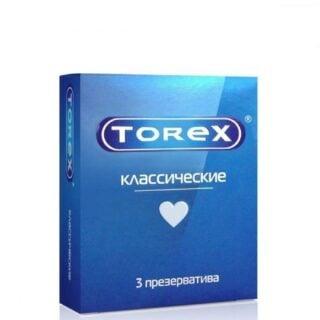 Презервативы классические гладкие Torex, 3 шт