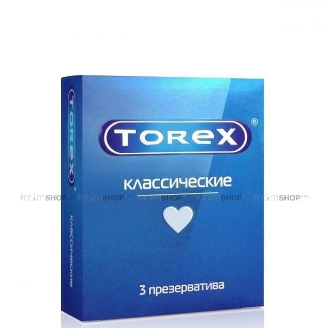Презервативы классические гладкие Torex, 3 шт фото