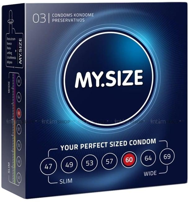 Презервативы MY.SIZE размер 60, 3 шт фото