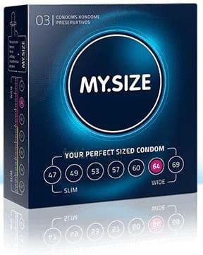 Презервативы MY.SIZE размер 64, 3 шт фото