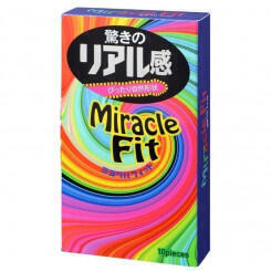 Презервативы Sagami Miracle Fit Latex Condom №10