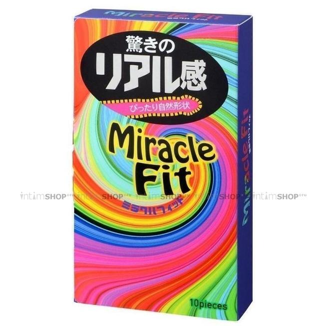 Презервативы Sagami Miracle Fit Latex Condom №10
