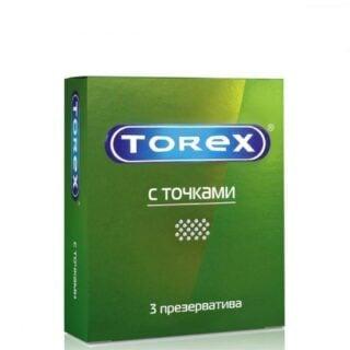 Презервативы со стимулирующими точками Torex, 3 шт