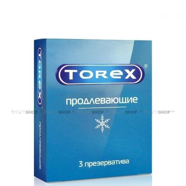 Пролонгирующие презервативы Torex, 3 шт фото