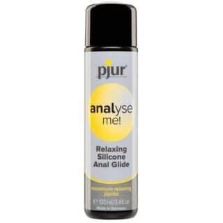Расслабляющий силиконовый анальный лубрикант Pjur Analyse Me! Relaxing, 100 мл флакон
