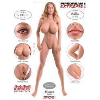 Реалистичная кукла Бьянка PIPEDREAM Extreme Toyz Ultimate