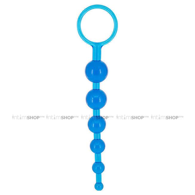 Анальная цепочка Seven Creations DRAGONZ TALE ANAL, синяя