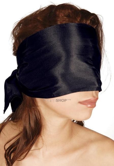 Широкая повязка на глазаBad Kitty Bondage Scarf, черный