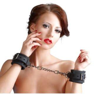 Силиконовые наручники на цепочке ORION Silikon-Handfessel