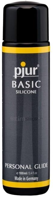 Силиконовый лубрикант Pjur Basic, 100 мл флакон фото