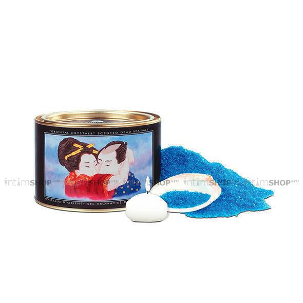 Соль для ванны Shunga Orienal Crystals Океания, 600 гр, в наборе 3 предмета в упаковке