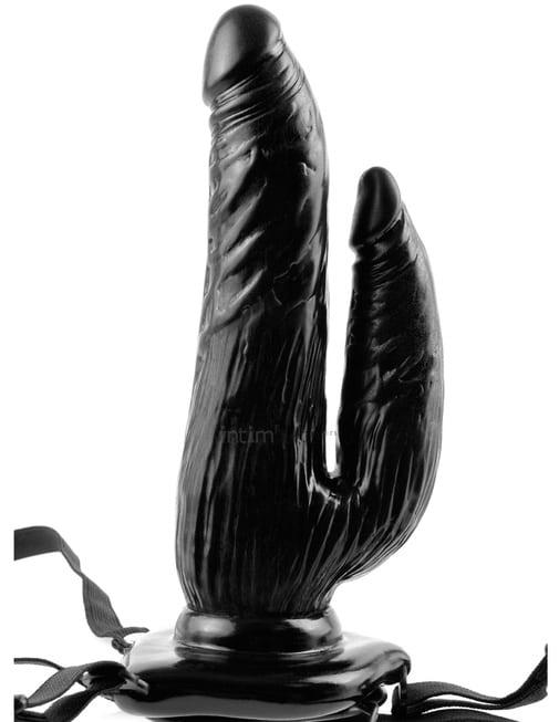 Двойной страпон с вибрацией PipeDream Dual Penetrator