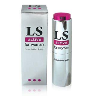 Стимулирующий спрей для женщин - LOVESPRAY ACTIVE 18 мл