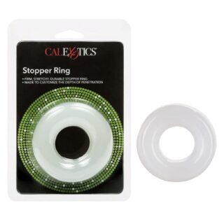 Эрекционное кольцо California Exotic Novelties Stopper Ring, бесцветный