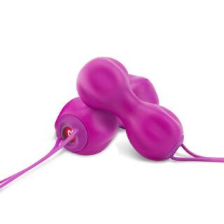 Усовершенствованные шары для упражнений Кегеля Nomi Tang IntiMate Plus, фиолетовые
