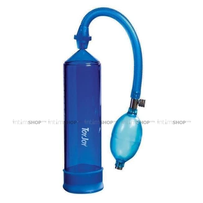Вакуумная помпа Toy Joy Power Pump Blue, голубая