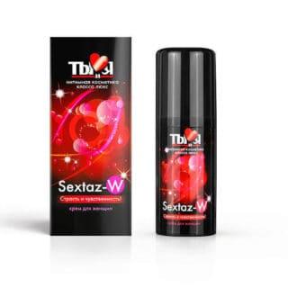 """Возбуждающий крем для женщин Sextaz-W """"Ты и Я""""  20 г"""